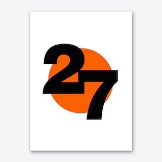 No.27 Art Print