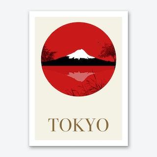 Visit Tokyo Art Print