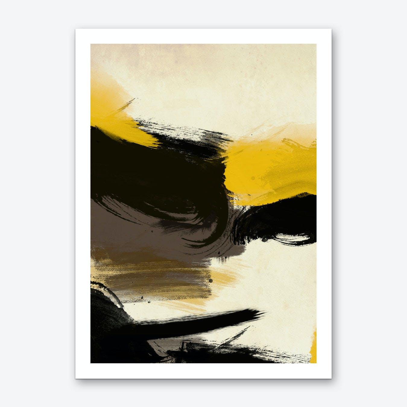Schreiber Yellow No.1 Art Print