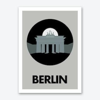 Visit Berlin Art Print I