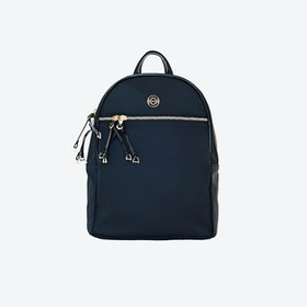 Helsinki Handsfree Backpack in Black Nylon
