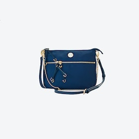 Melbourne Minx Crossbody Bag in Dark Blue Nylon