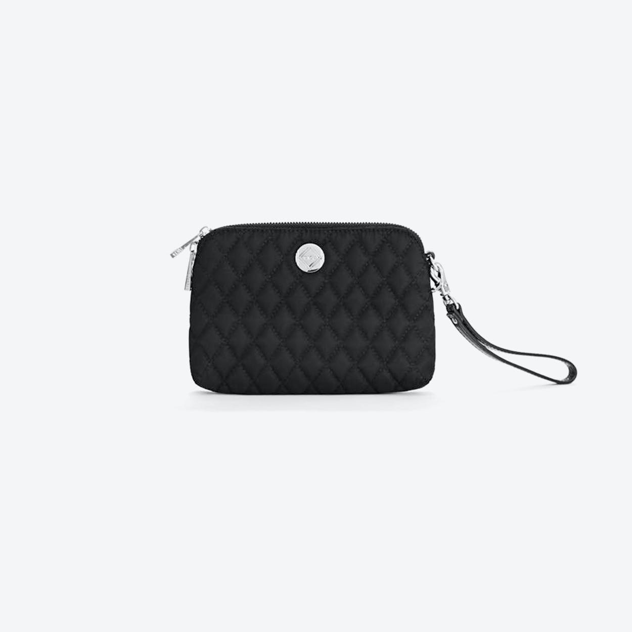Little Friday Clutch in Black Nylon