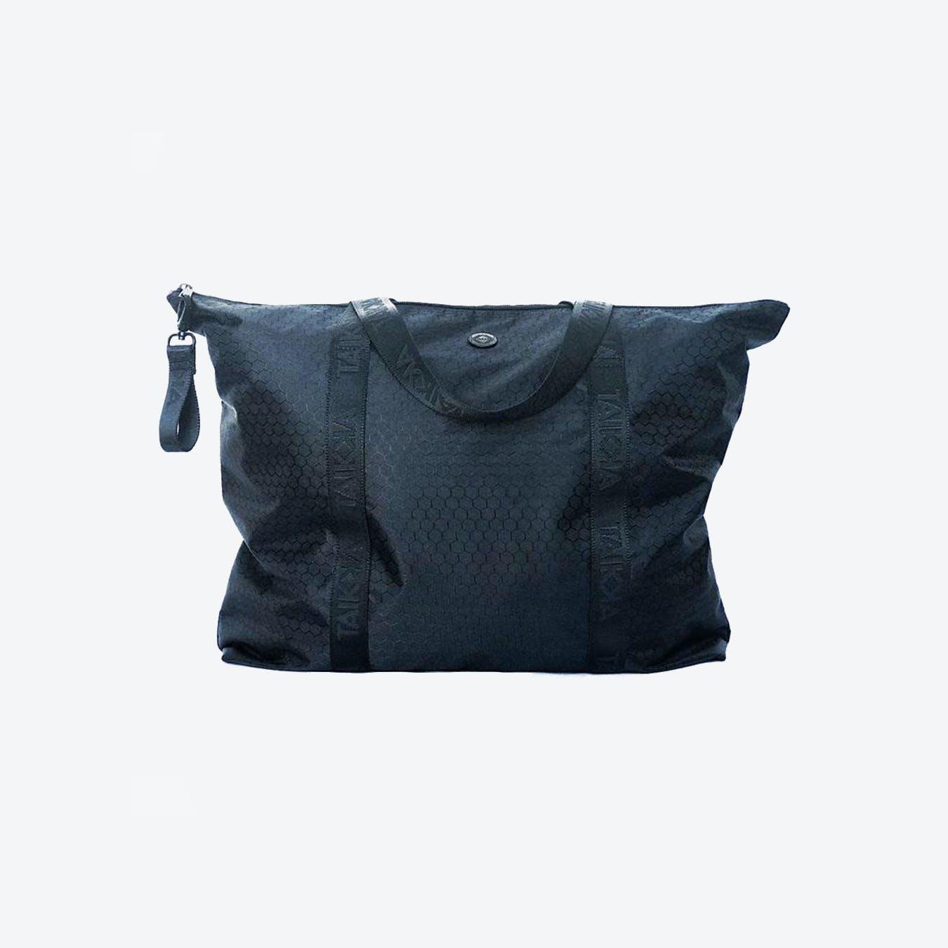Zip It Up Travel Bag in Black Nylon
