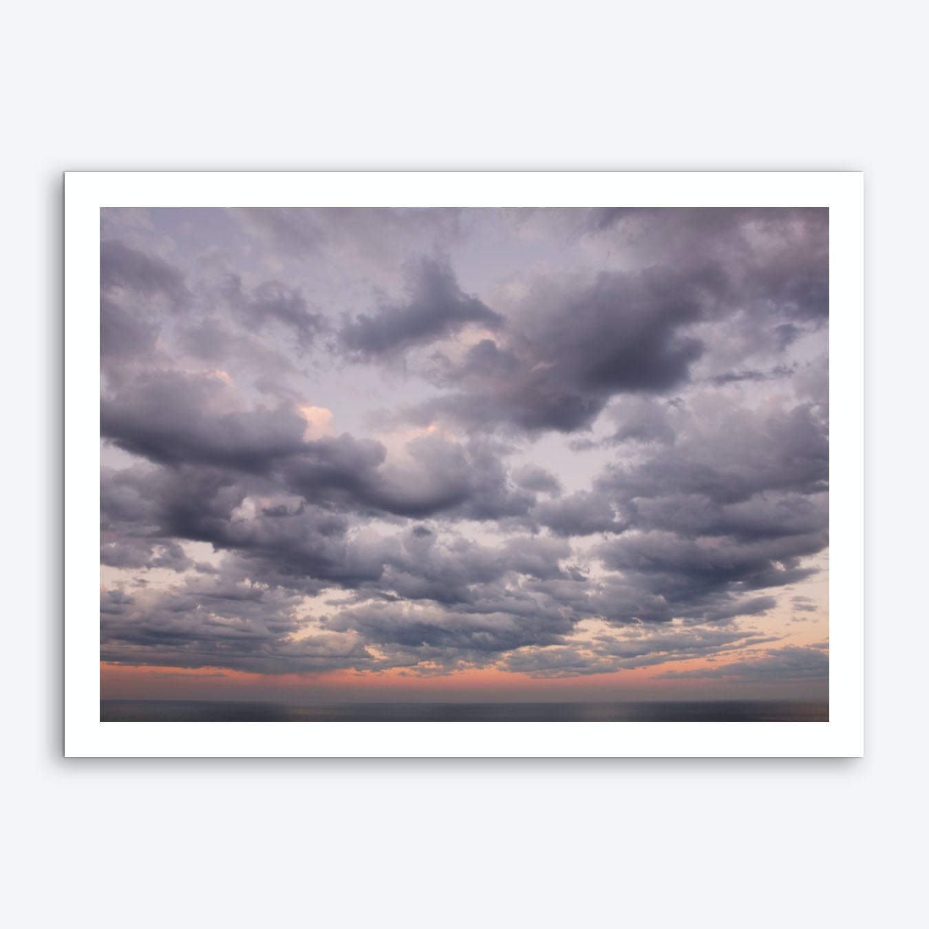 Dusk Clouds Art Print