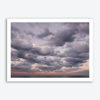 Dusk Clouds Art Print