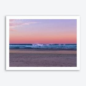 Dusk Beach Art Print