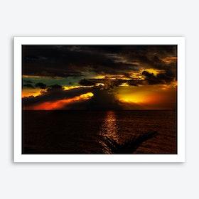 Sunset1 Art Print