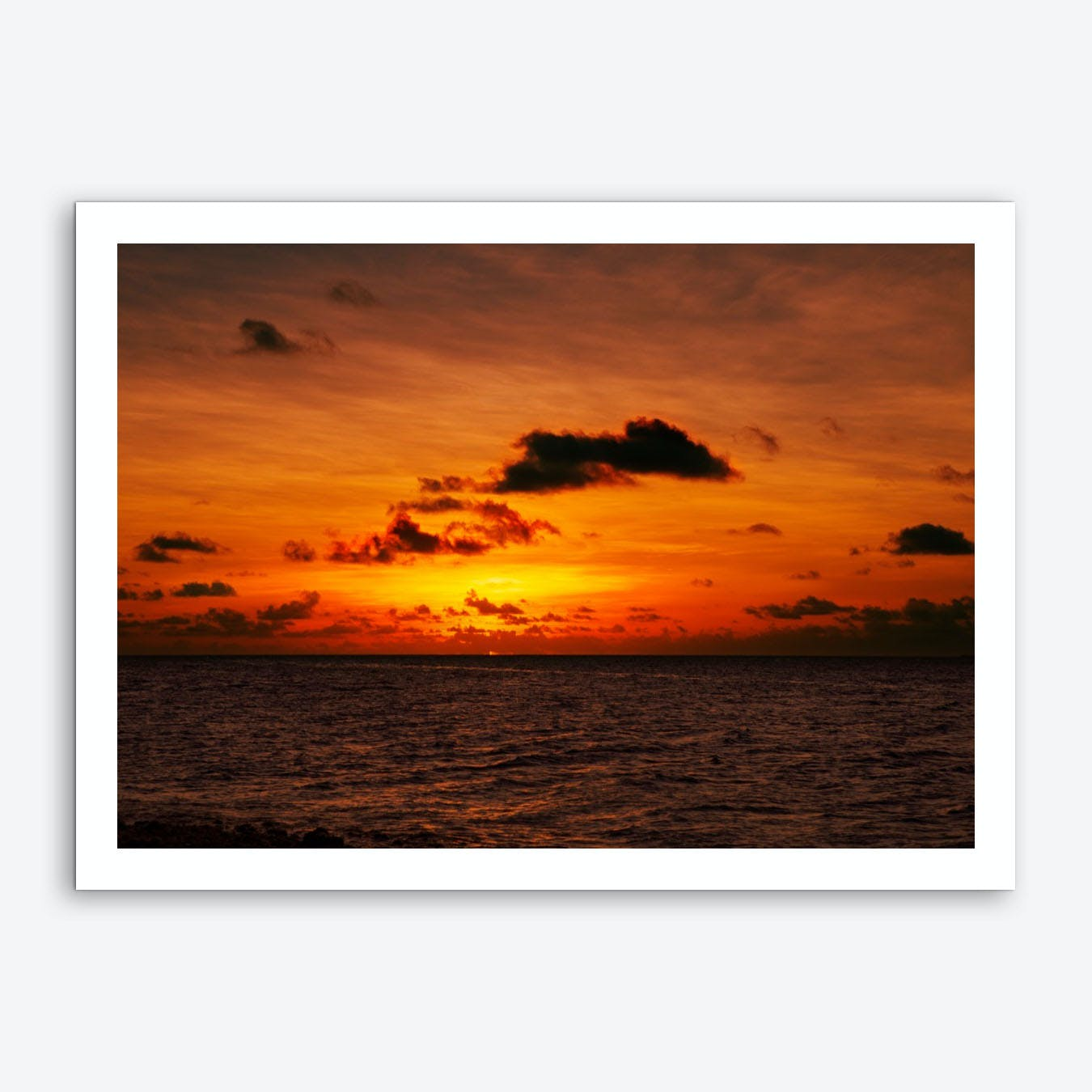 Sunset2 Art Print