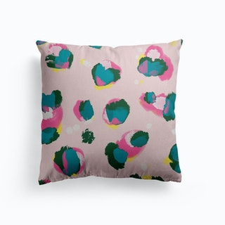 Petels In Spring Canvas Cushion