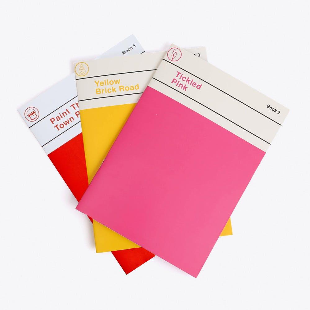 Notebook Set of 3 No.1