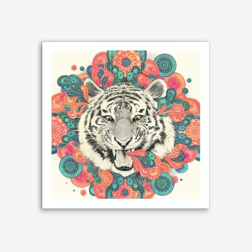 Bengal Mandala Art Print