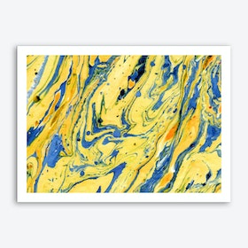 Colors on the Lake Art Print