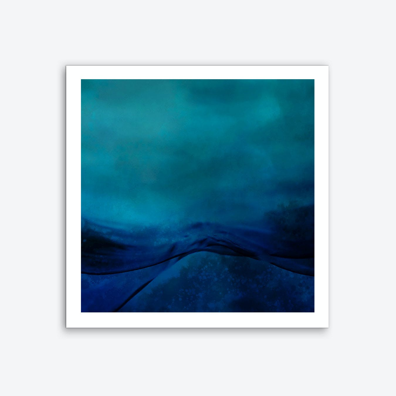 Storm Water Art Print
