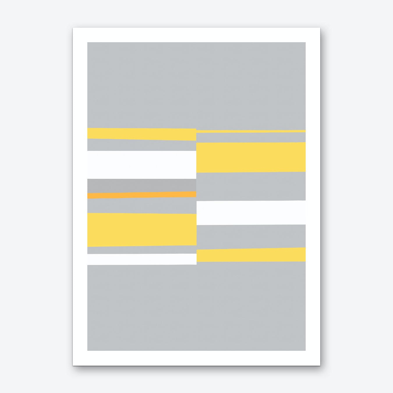 Mosaic Single 3 Art Print