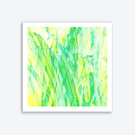 Grassy Abstract Art Print