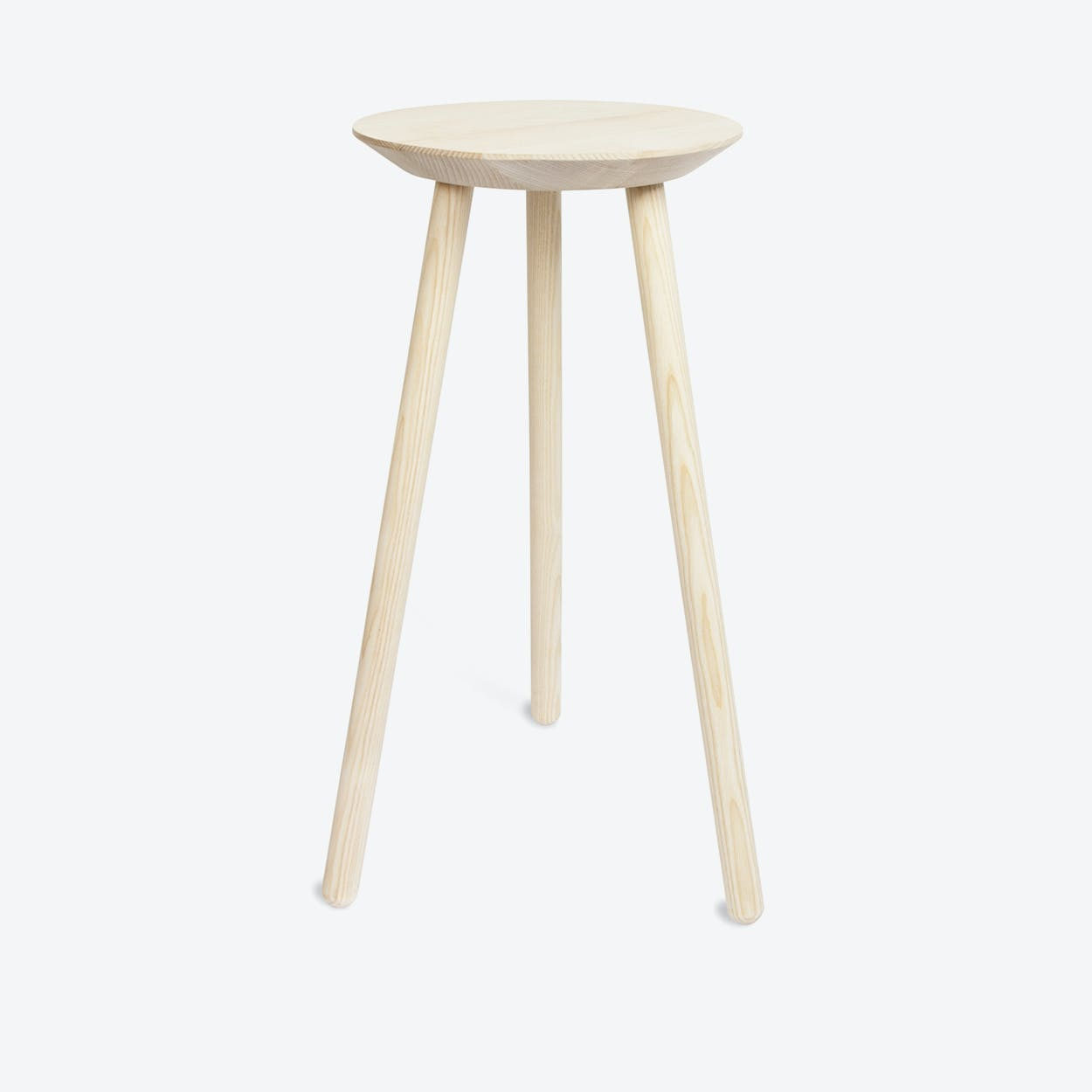 Cheers Sidetable in Natural Ash Wood