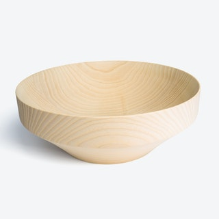 Krims Bowl in Lacquered Ash (Dull) Wood