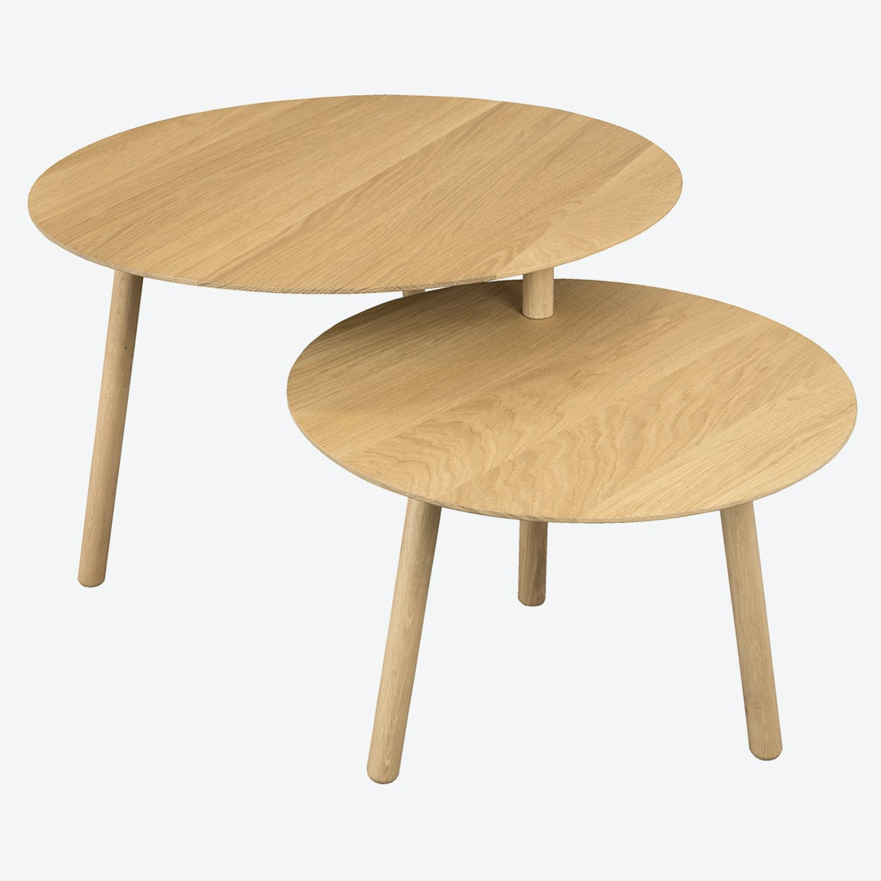 Drade Table in Lacquered Oak (Dull) Wood