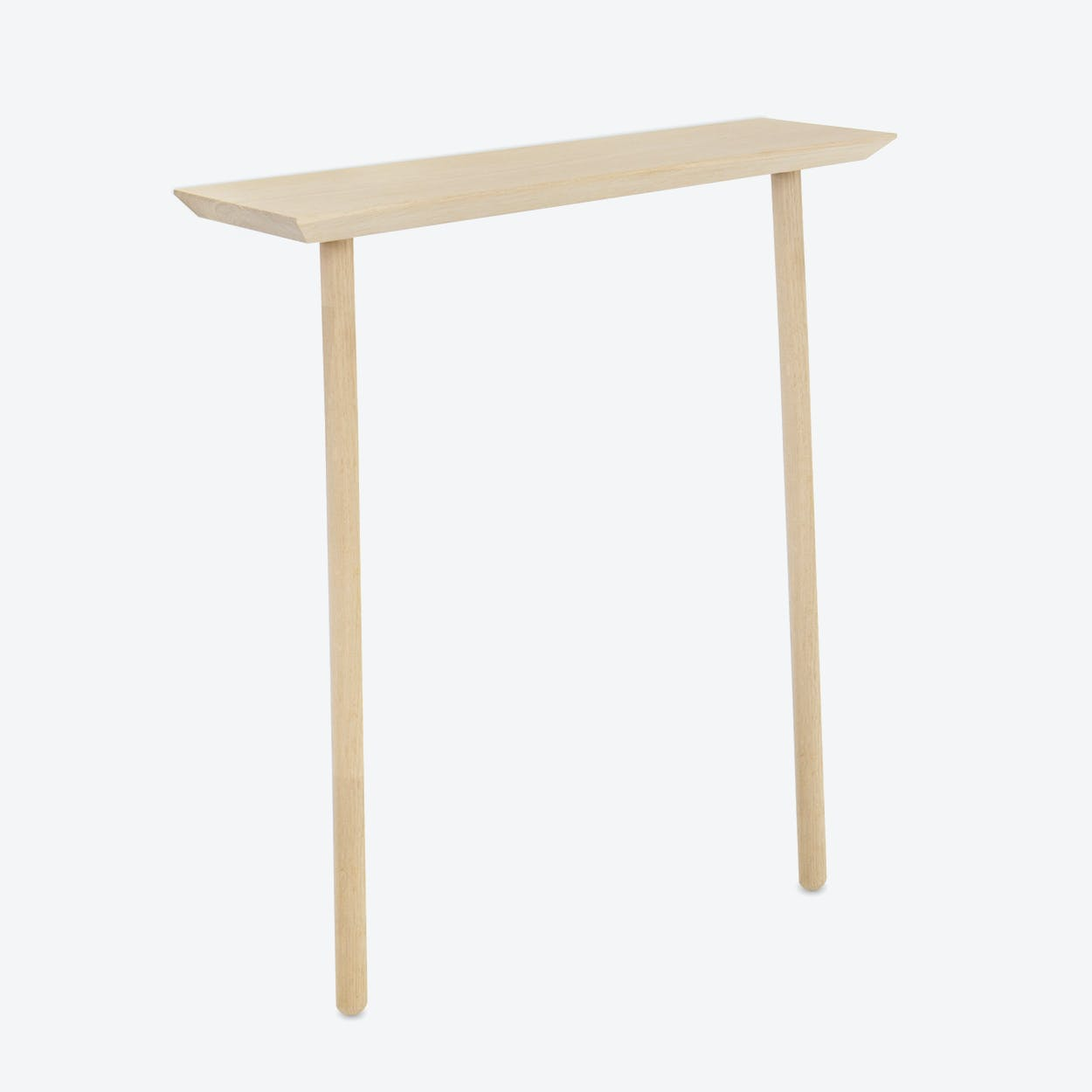 Hipsta Console in Natural Oak Wood Small