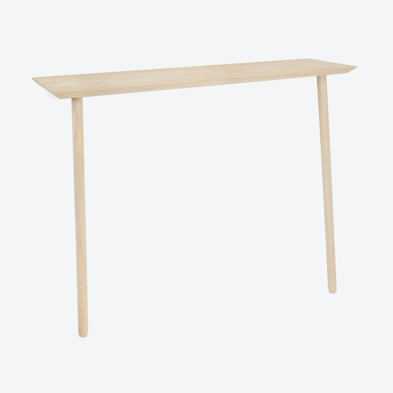 Hipsta Console in Natural Oak Wood Medium