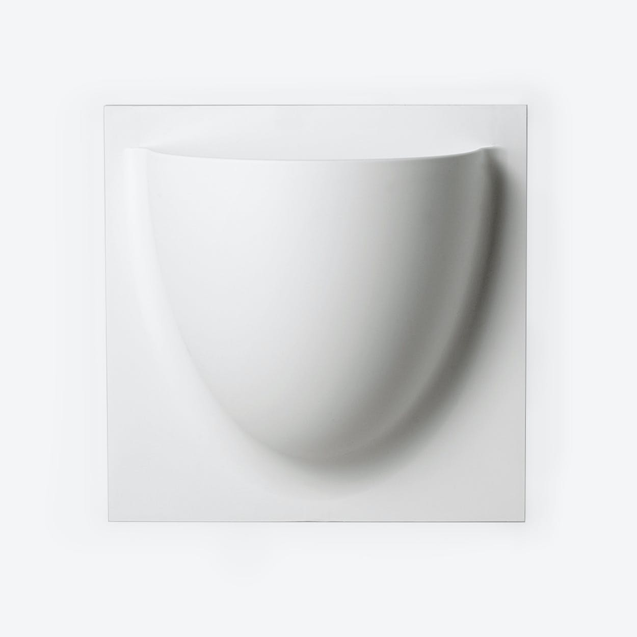 Wall Planter / Jar in White