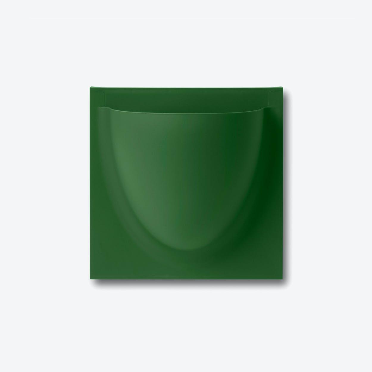 Wall Planter / Jar Mini in Leaf Green (Set of 2)