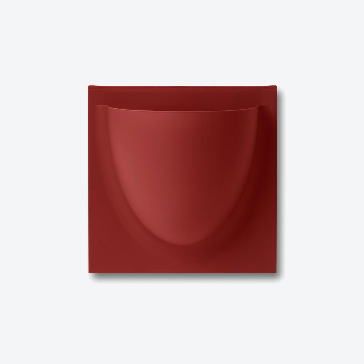 Wall Planter / Jar Mini in Ruby Red (Set of 2)