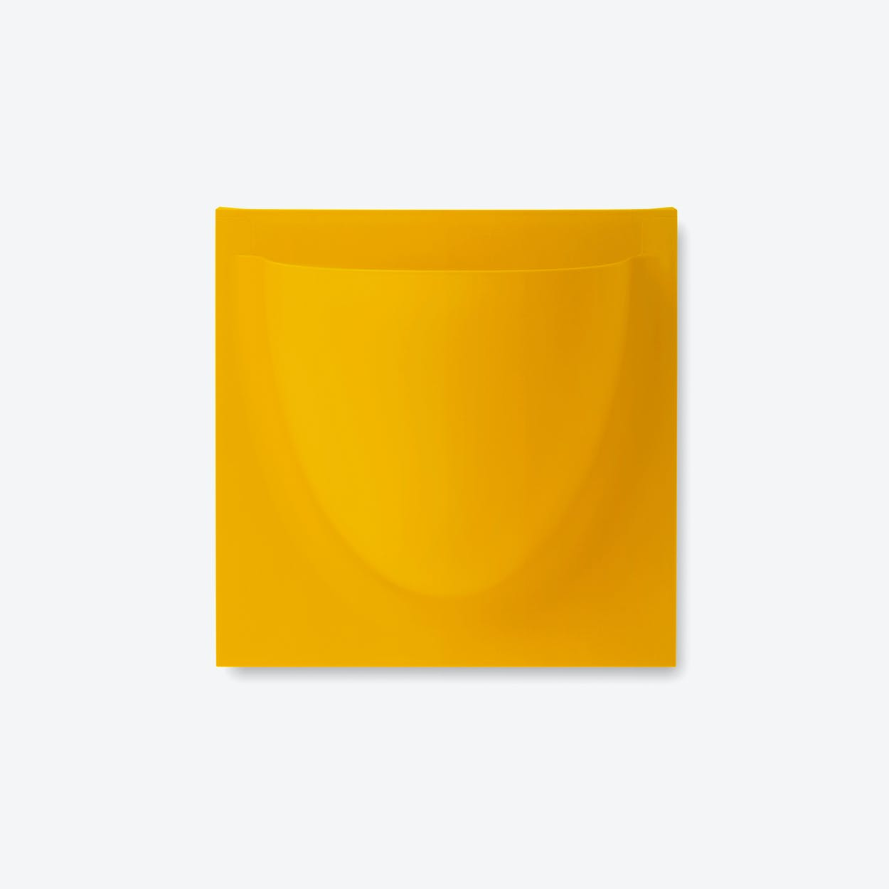 Wall Planter / Jar Mini in Dark Yellow (Set of 2)
