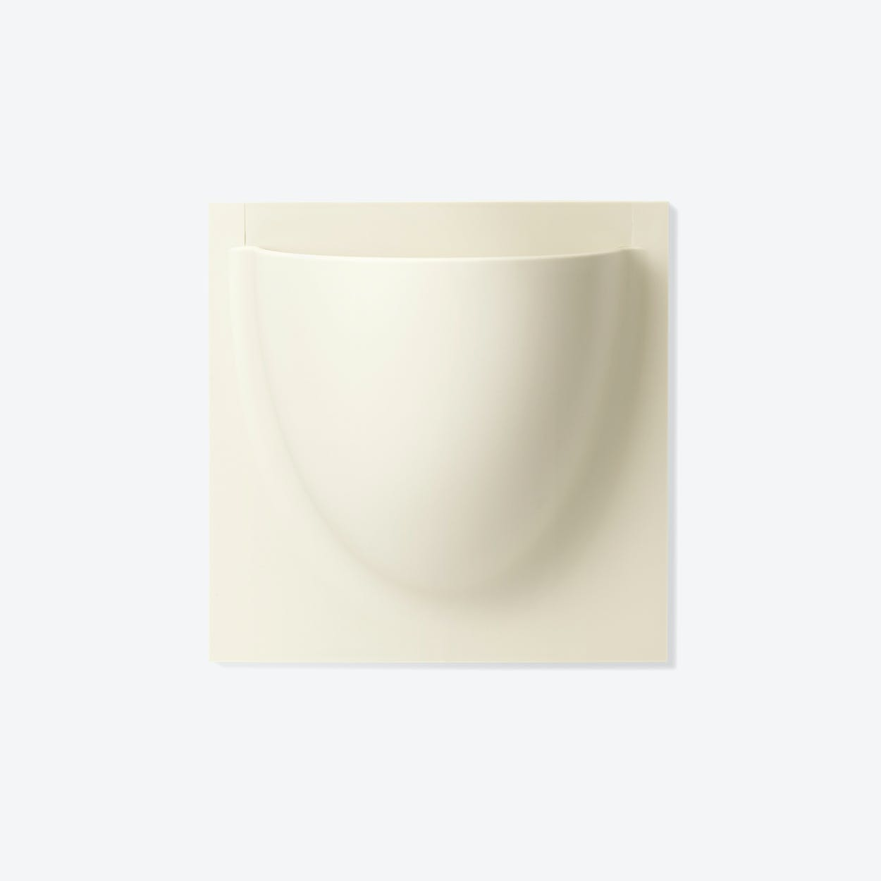 Wall Planter / Jar Mini in Oyster White (Set of 2)