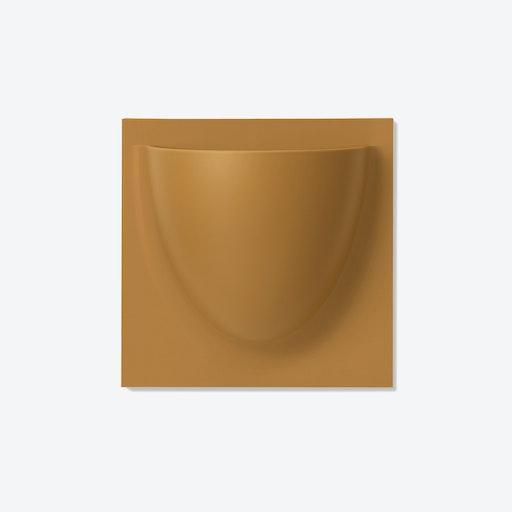 Wall Planter / Jar Mini in Brown Beige (Set of 2)