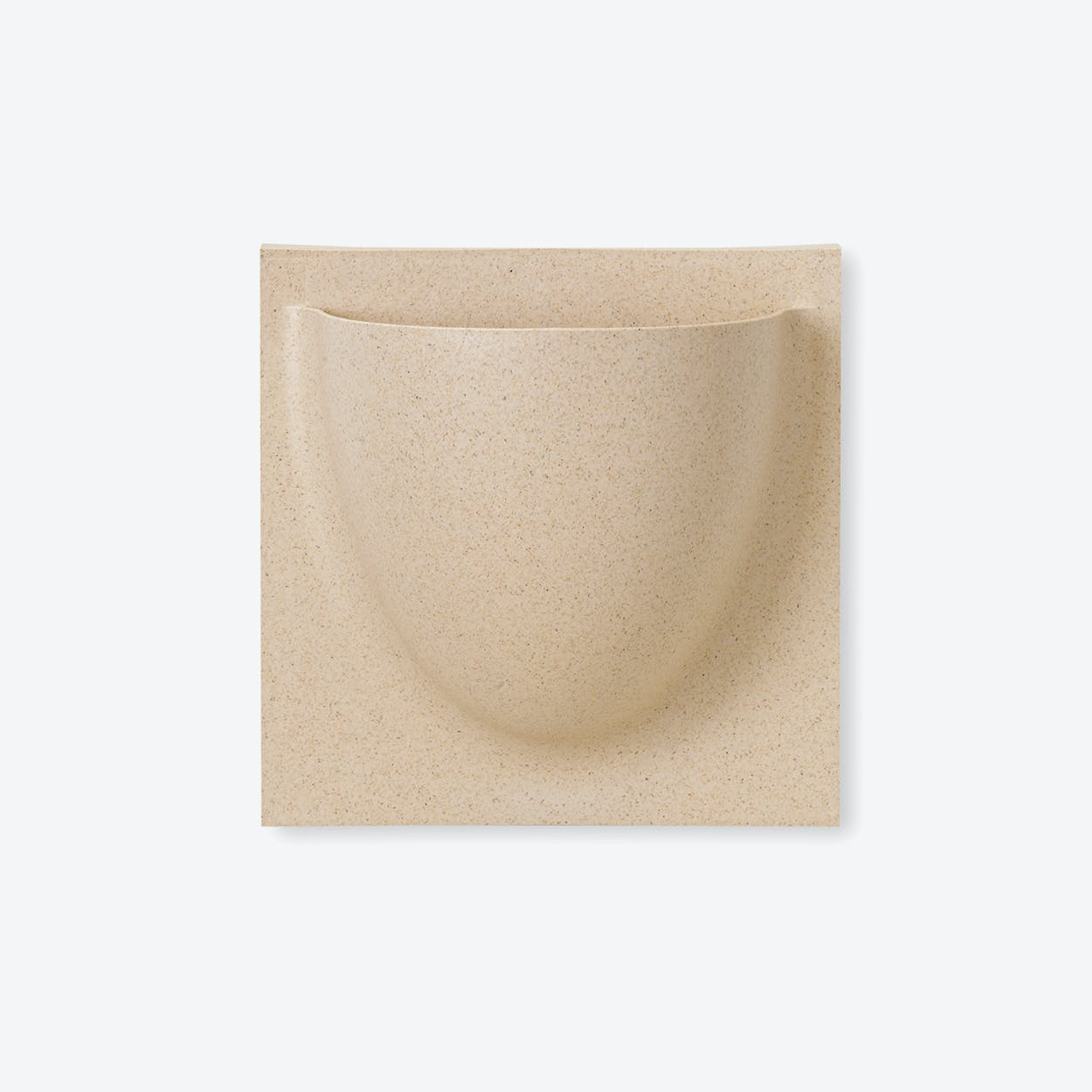 Wall Planter / Jar Mini in Biobeige (Biofiber) (Set of 2)
