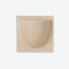 Wall Planter / Jar Mini in Biobeige (Biofiber) (Set of 2)