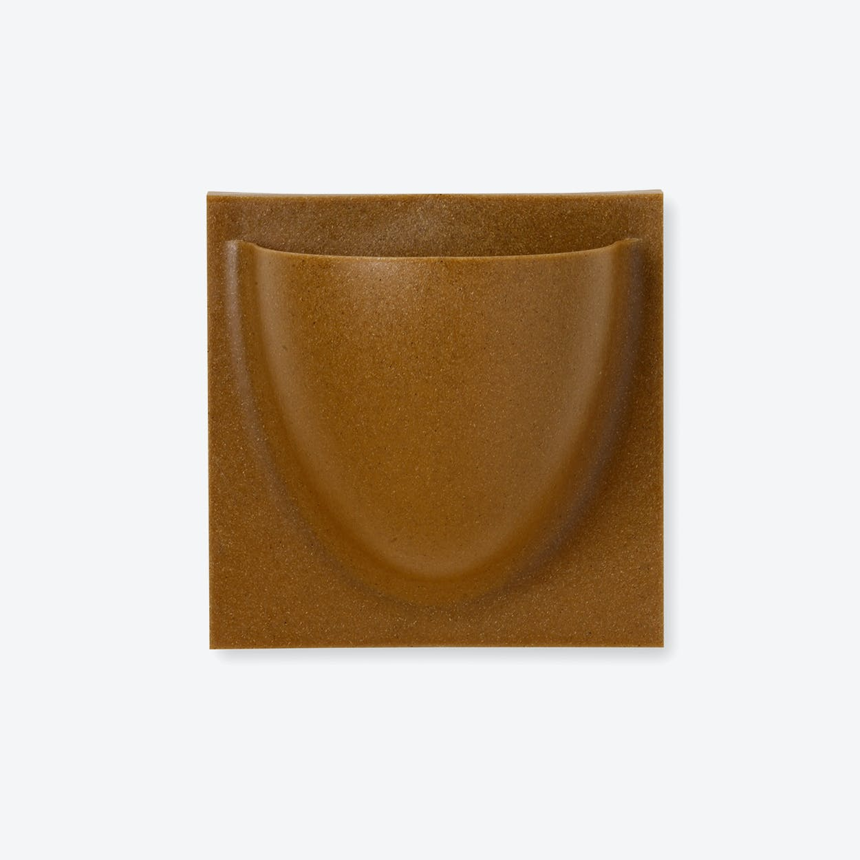 Wall Planter / Jar Mini in Caramel (Biofiber) (Set of 2)
