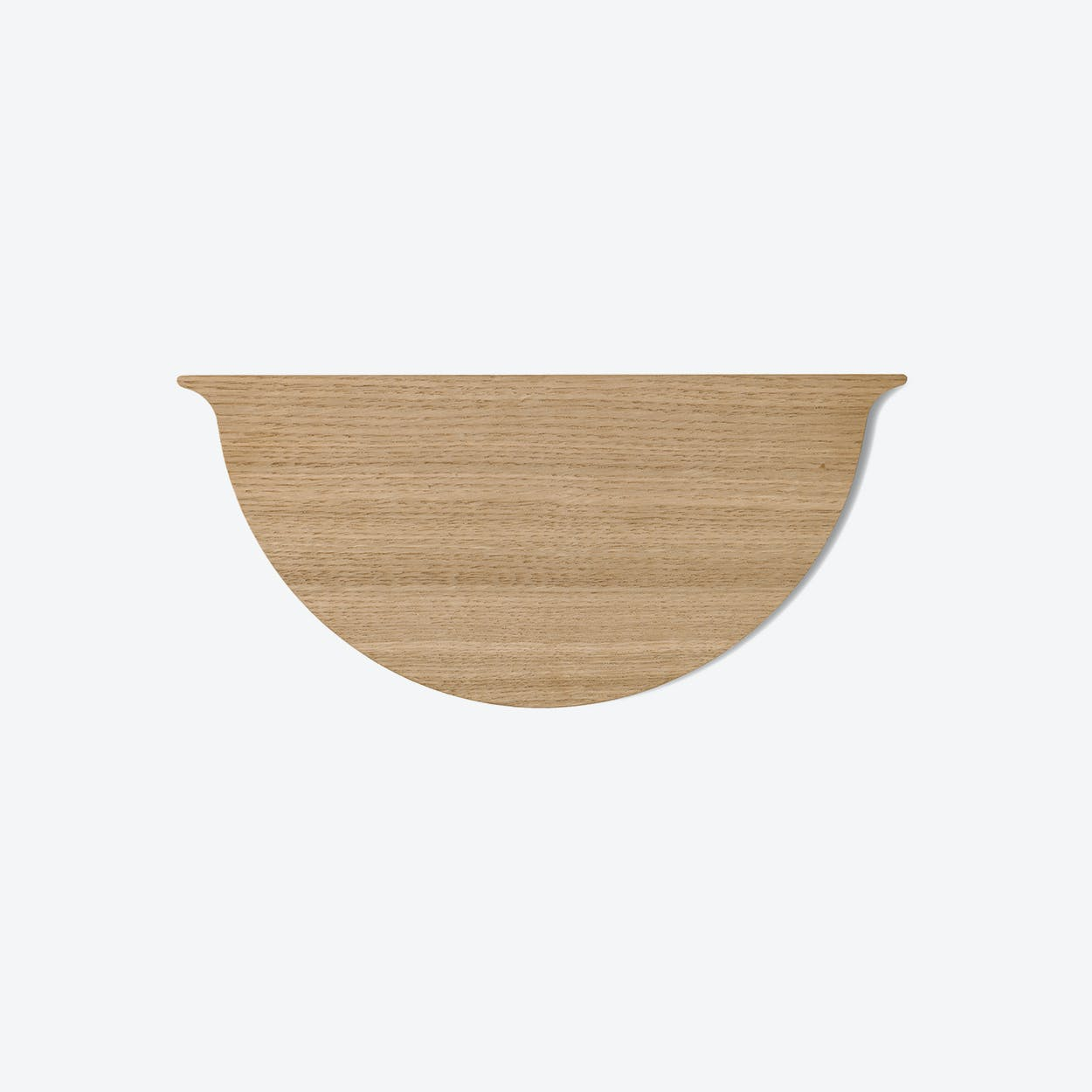 Wall Planter Lid in Oak