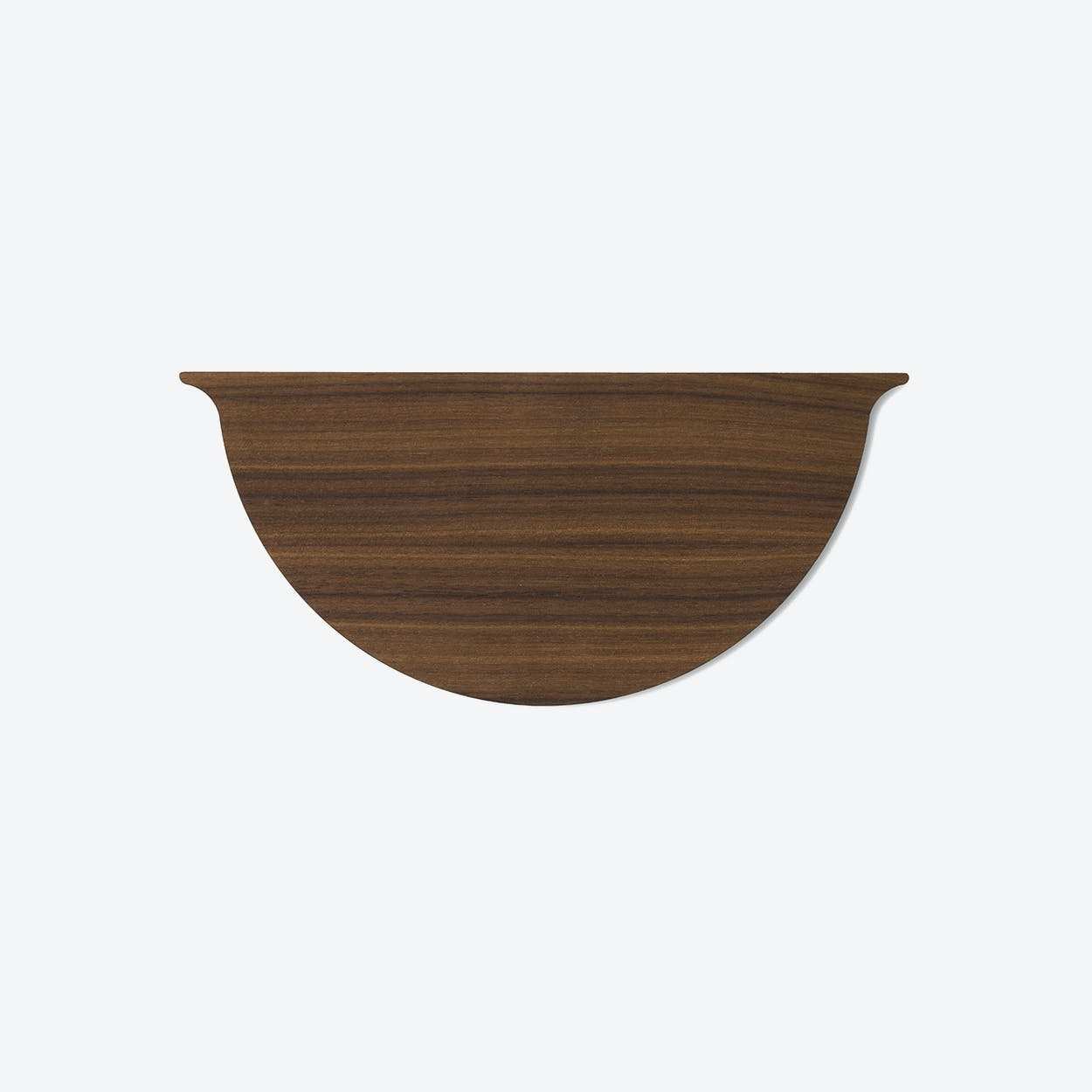 Wall Planter Lid in Walnut