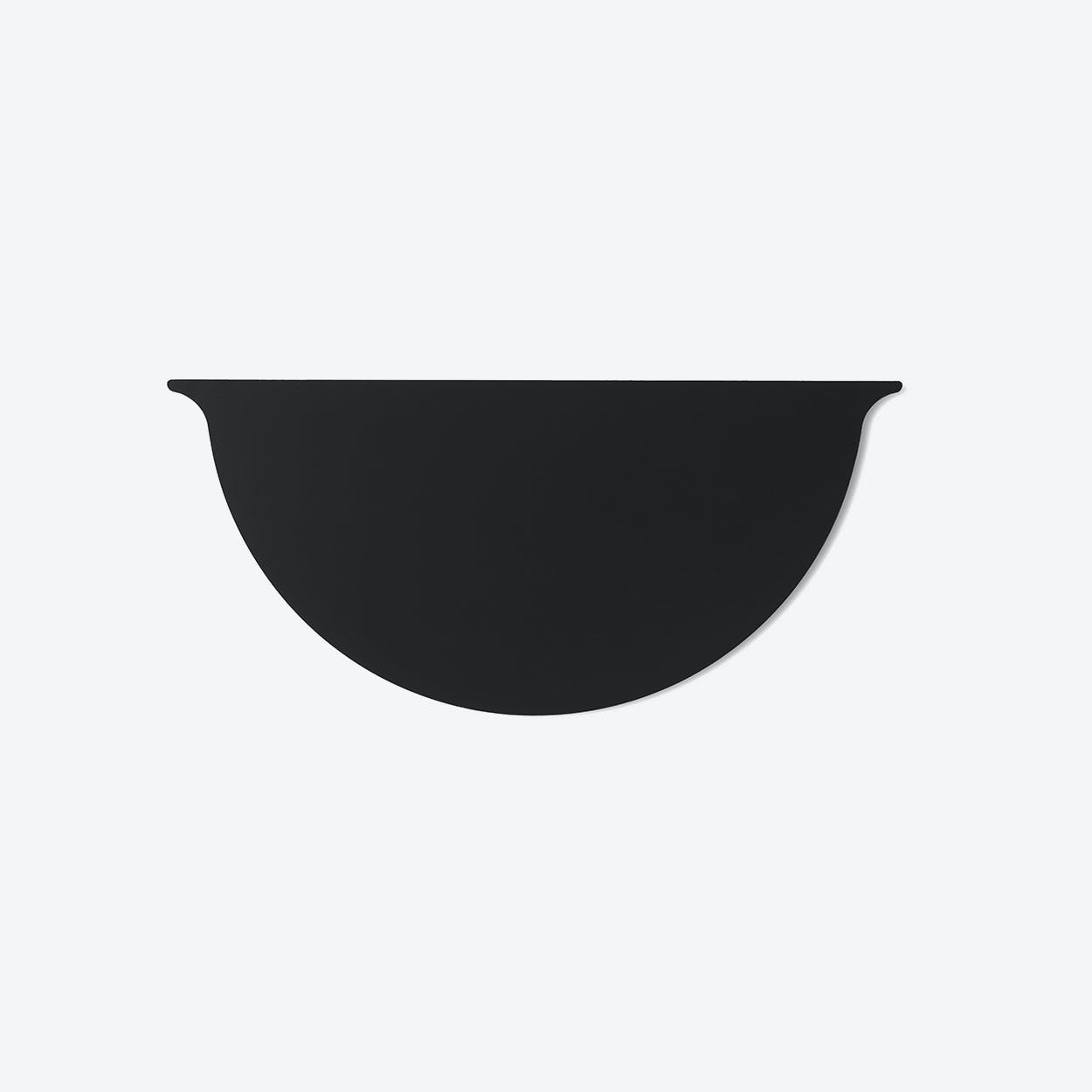 Wall Planter Lid in Black