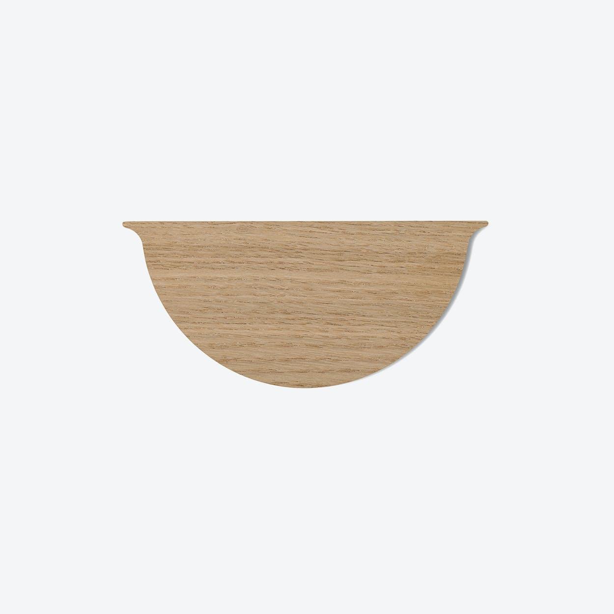 Wall Planter Mini Lid in Oak