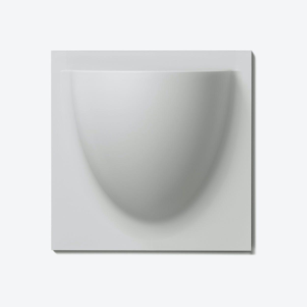 Wall Planter / Jar in Grey