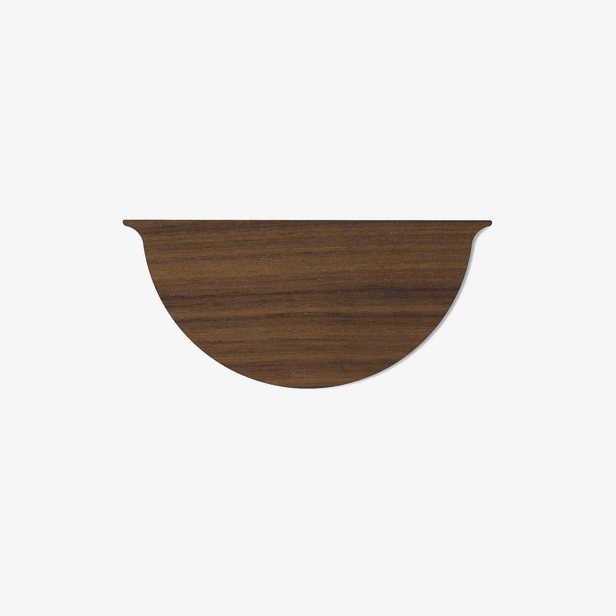 Wall Planter Mini Lid in Walnut