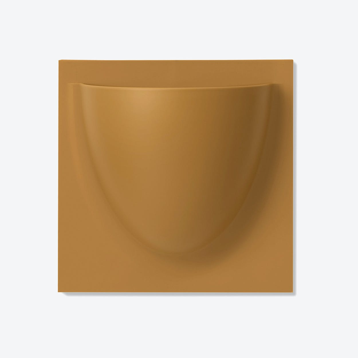Wall Planter / Jar in Brown Beige