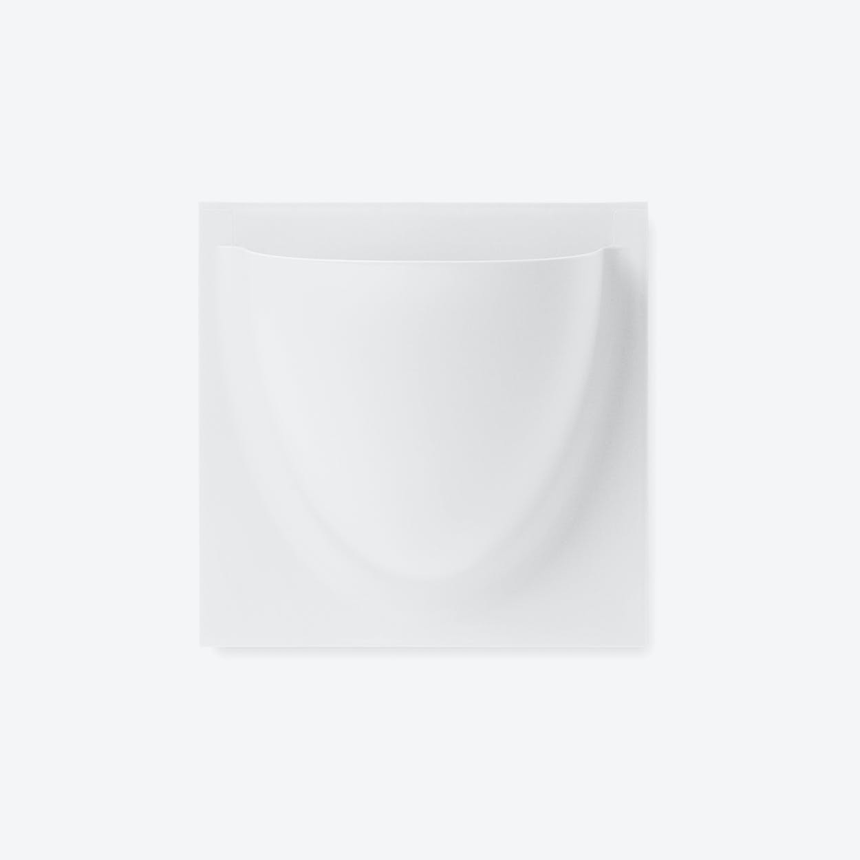 Wall Planter / Jar Mini in White (Set of 2)