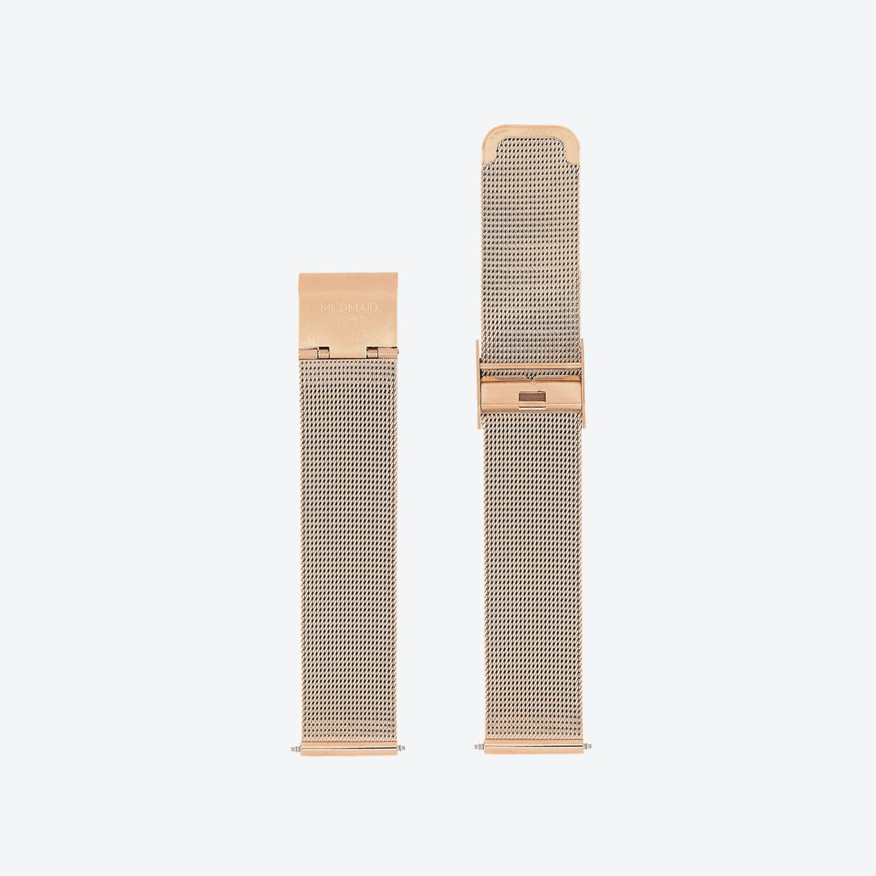 18mm Mesh Watch Band in Rose Gold