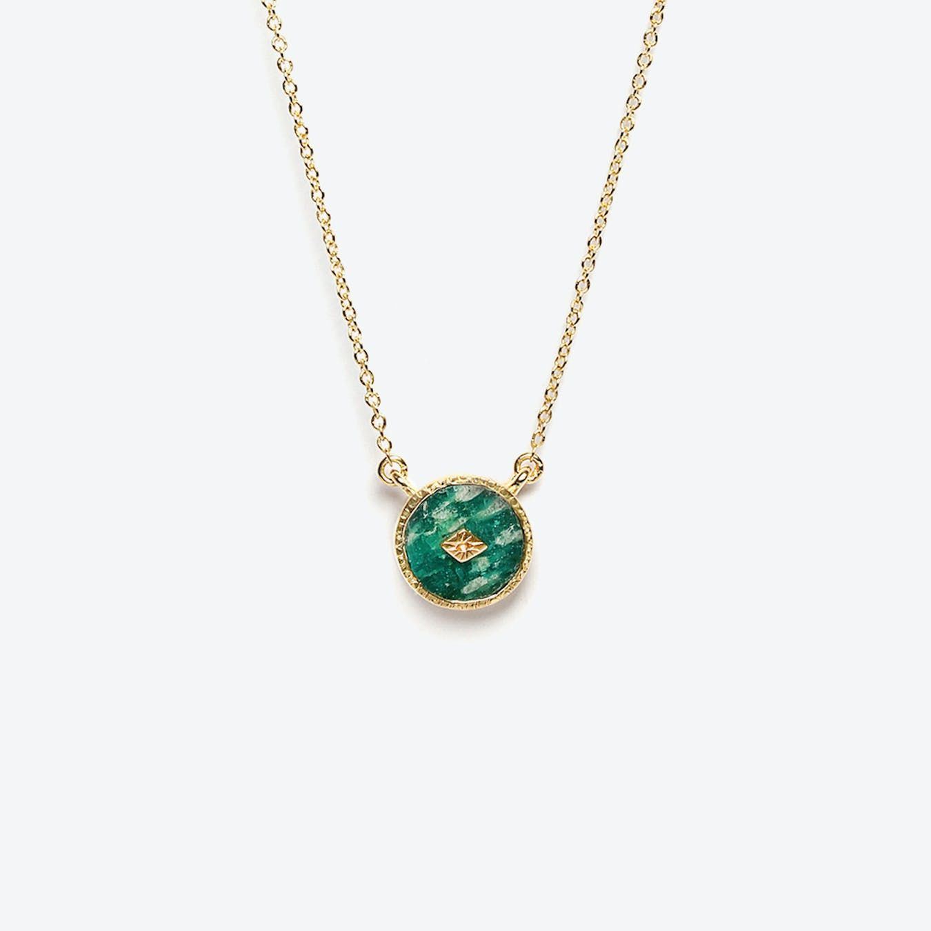 Sanja Necklace - Amazonite