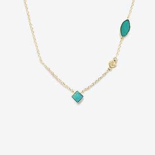 Shayan Necklace - Turquoise