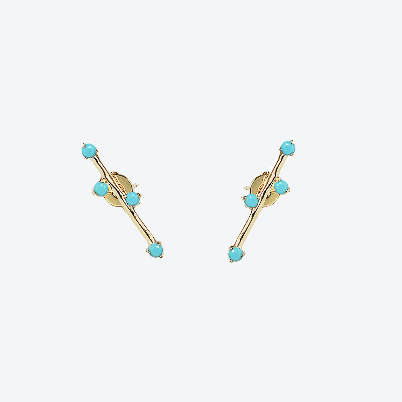 Delia Earrings - Turquoise