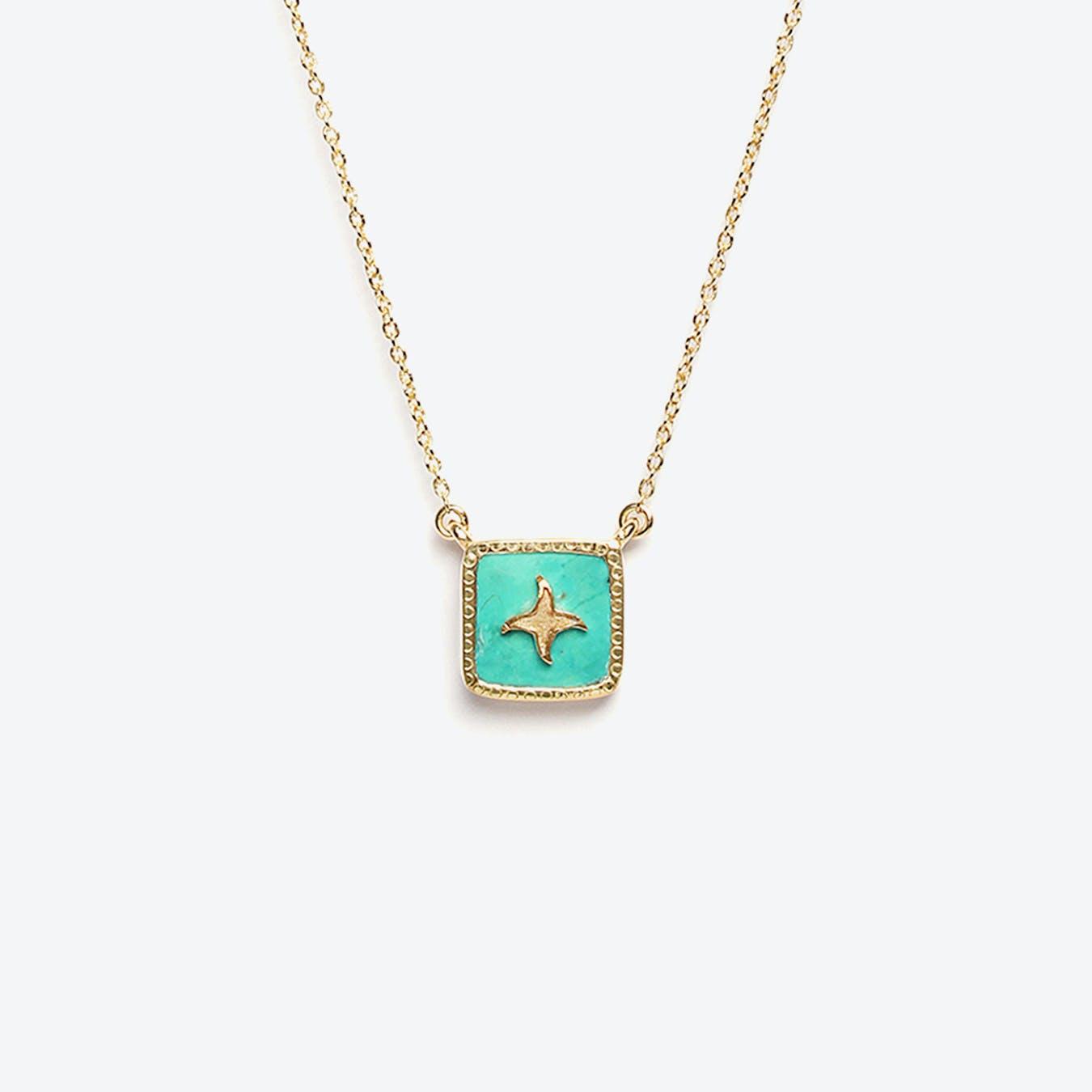 Meruba Necklace - Turquoise