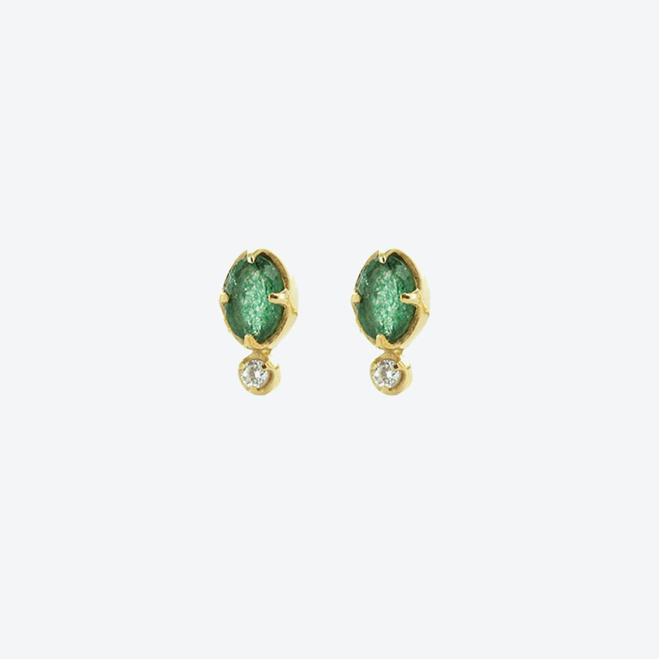 Mani Earrings - Aventurine