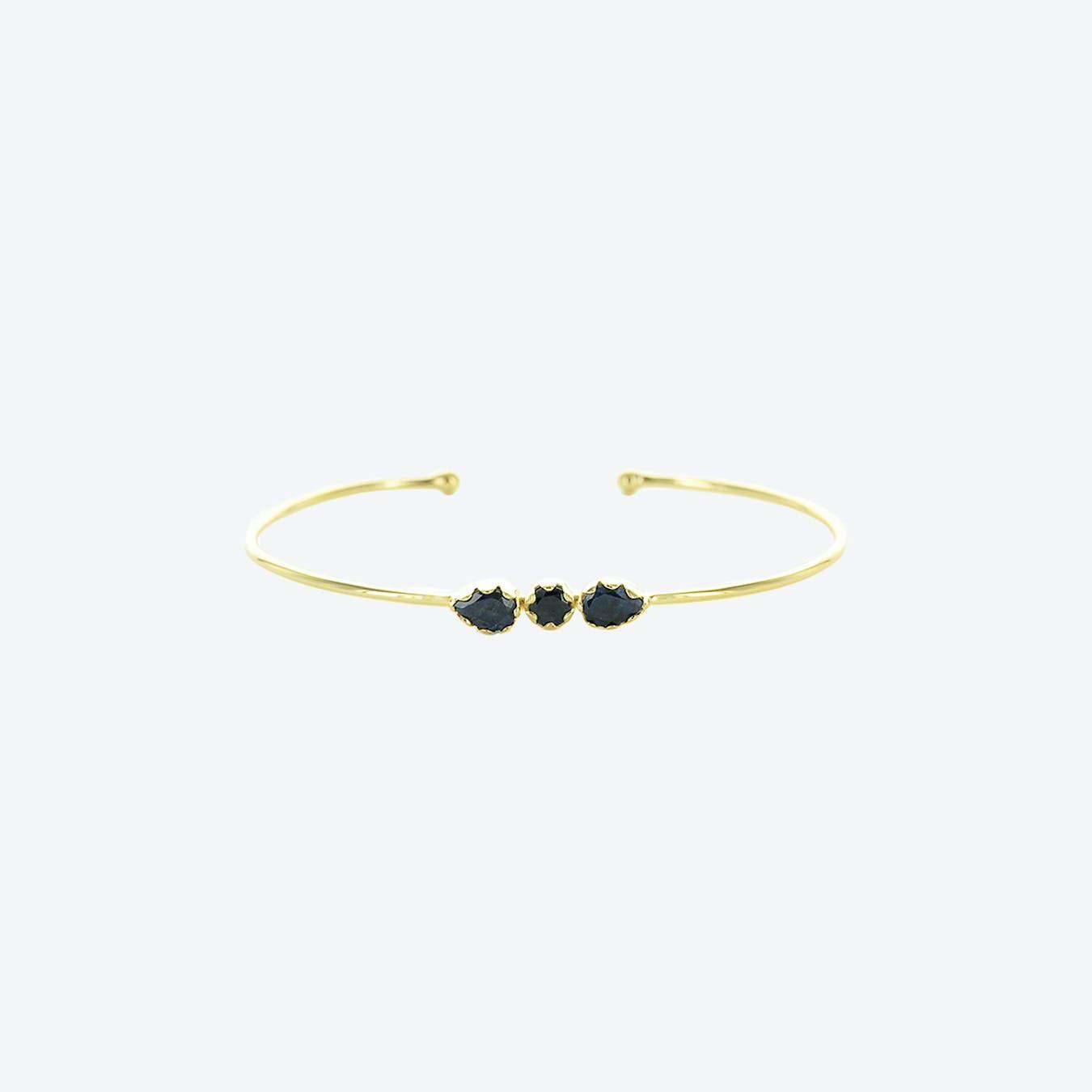 Noya Cuff - Sapphire