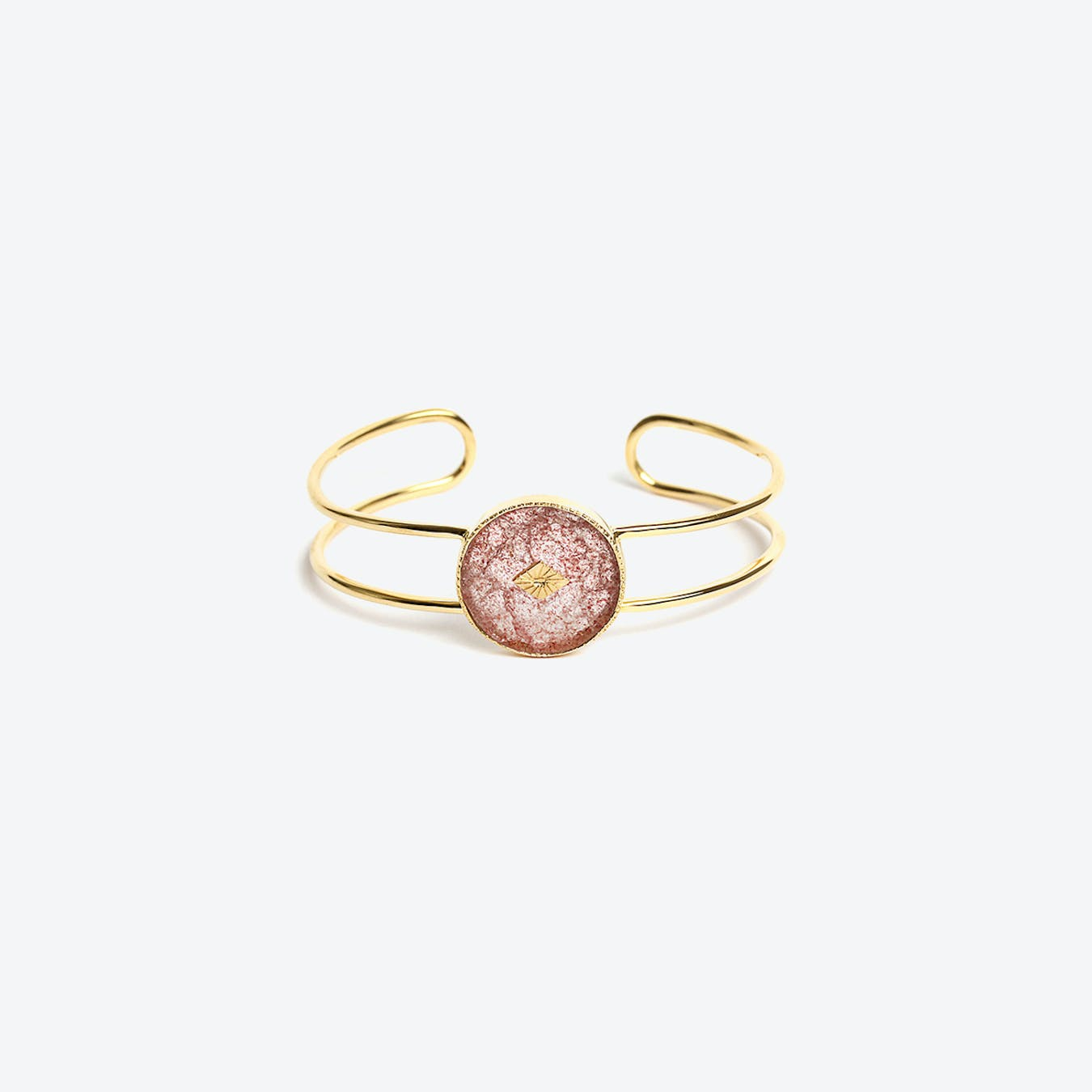 Sanja Cuff - Strawberry Quartz